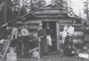 Cook family's first Sechelt home